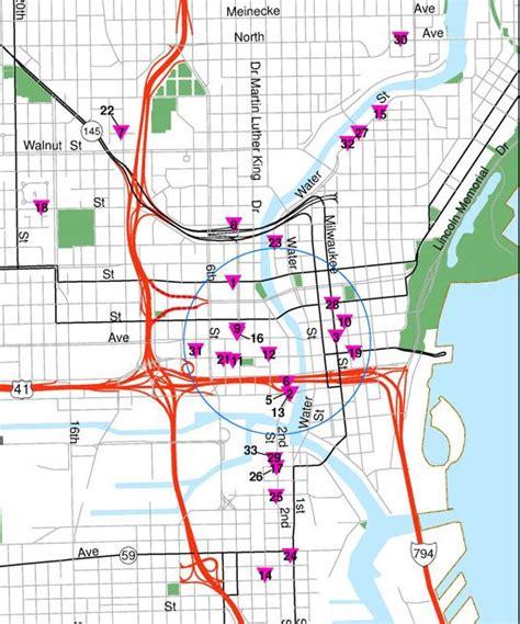 map of milwaukee 31 amazing milwaukee on the map swimnova