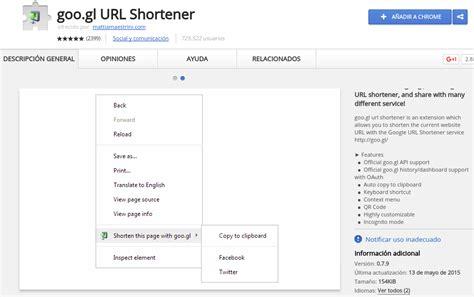 direcciones cortas google google url shortener herramienta de google que acorta las