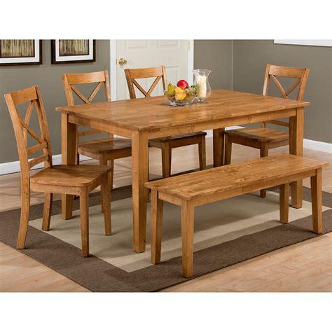 kitchen and dining furniture jofran 352 60 352 14kd 4x352 806kd simplicity honey 6