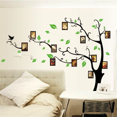 photo frames tree diy removable art vinyl wall sticker
