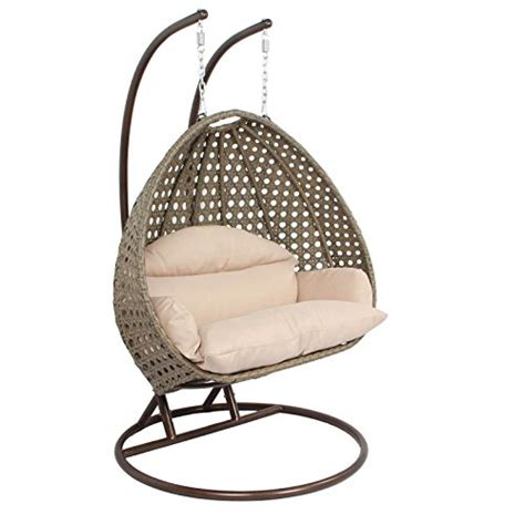 egg shaped patio swing chair island gale outdoor patio furniture luxury single 2 person