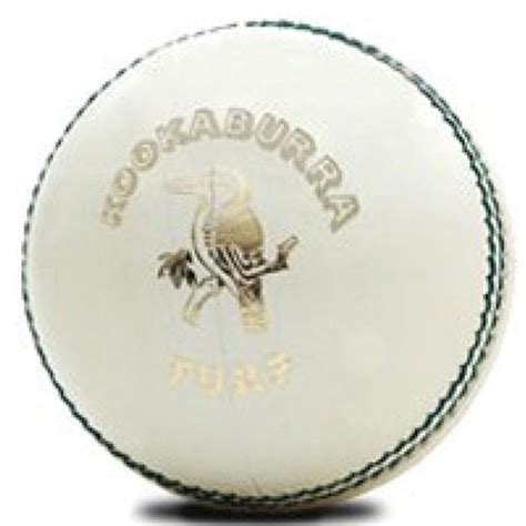 Kids Play Table Kookaburra Turf White Official Odi And T20 Cricket Ball
