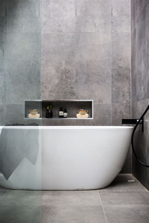 bathtub contemporary 17 best ideas about charcoal bathroom on pinterest white