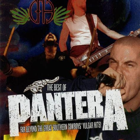 the best of pantera car 225 tula frontal de pantera the best of pantera portada