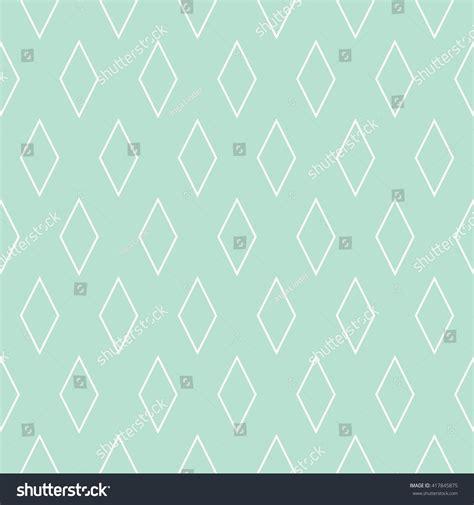 vector pattern tile tile vector pattern mint green white stock vector
