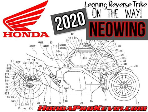 Honda Neowing 2020 by Flipboard 2020 Honda Neowing Leaning Trike On The