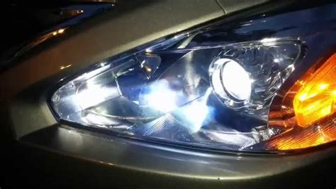 2015 Nissan Murano Led Headlights by Led Headlight Conversion On 2013 To 2015 Nissan Altima