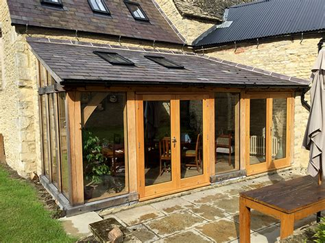 Garage Design Ideas Uk oak lean to extension the lion wendlebury shires oak