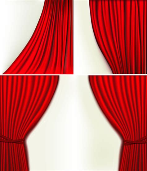 red silk drapes red silk flower design vector male models picture