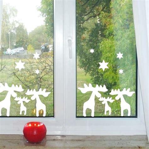 fensterdeko weihnachten modern fensterdeko weihnachten basteln modern fensterbild