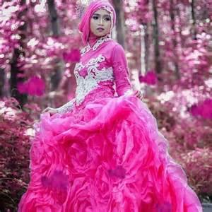 gambar model baju pengantin muslimah 18 gaun pernikahan muslimah syar i model terbaru