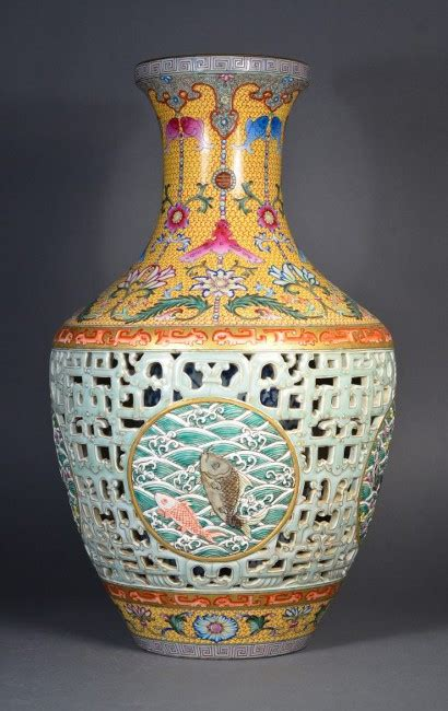 Qing Dynasty Vase by Gallery Qing Dynasty Porcelain Vase