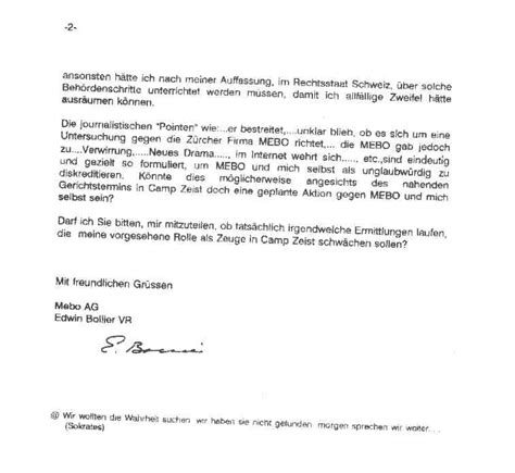 Inquiry Letter In German German Letter Format Letter Format 2017