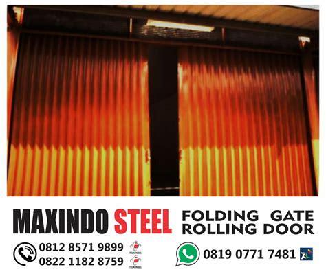 Folding Gate Pintu Pengaman gambar folding gate folding gate ruko folding gate kios