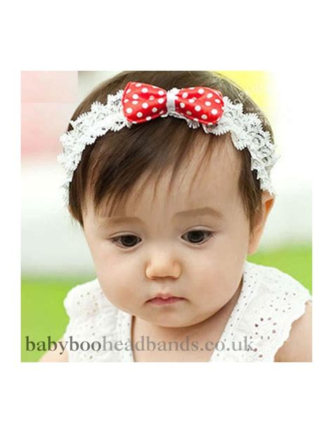 baby headbands baby headband uk strawberry bow baby headband from babyboo free uk delivery