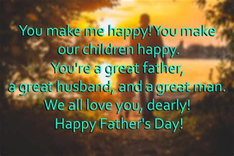 fathers day quotes for your husband top happy s 2018 day messages from to