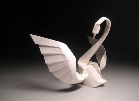 Origami Moving Swan - the we the as origami