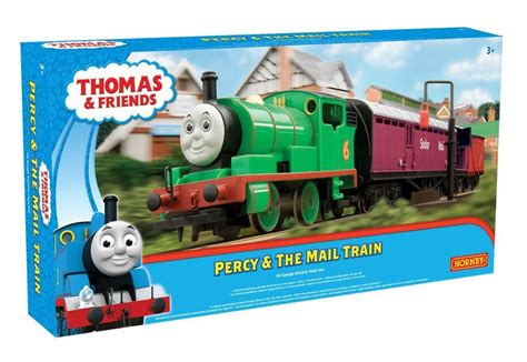 And Friends Percy Delivery Mail Diecast hornby friends r9284 1 76 oo scale percy and the mail set