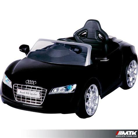 voiture pour 3 si鑒es auto voiture 233 lectrique pour enfant audi r8 licence officielle