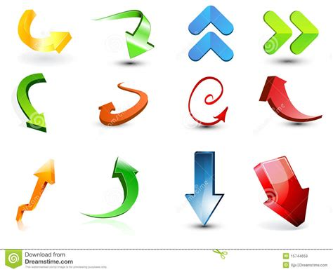 stock images royalty free images vectors arrow icon vectors stock vector image of template color 15744659