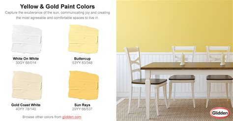 yellow gold paint colors