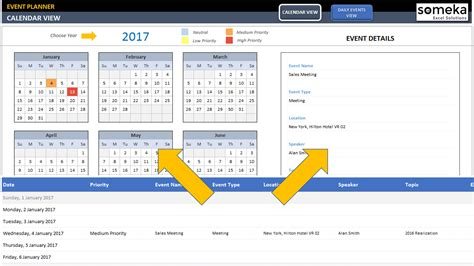 free monthly yearly excel calendar template 2018 and beyond