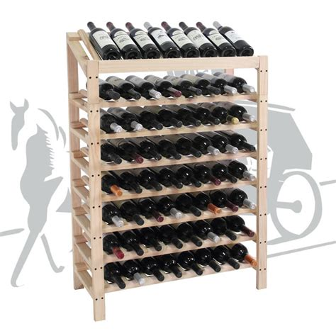 Wine Racks by Wooden Wine Rack 600a
