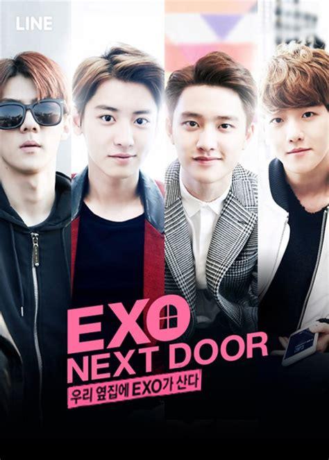 film korea exo next door exo next door 2015 korean mini drama 187 asia fan info