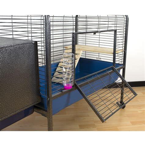gabbia per cavia gabbia per roditori spaziosa ed elegante 134x57x91 5 cm