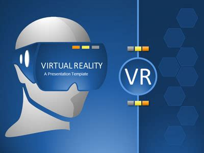Vr Exploration A Powerpoint Template From Presentermedia Com Augmented Reality Ppt Template