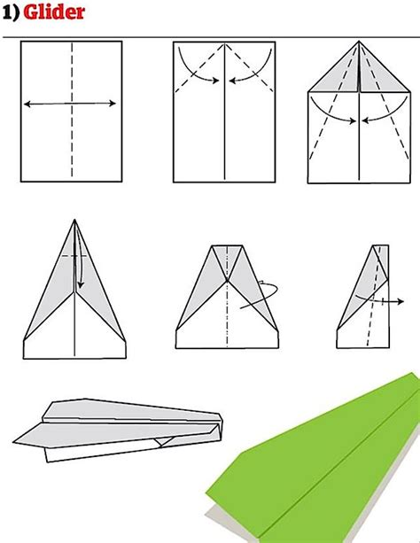 How To Make A Glider Paper Airplane Step By Step - extremegami how to make 8 of the world s best paper