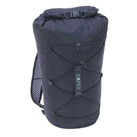 waterproof daypack reviews exped cloudburst 25 fully waterproof daypack ultralight