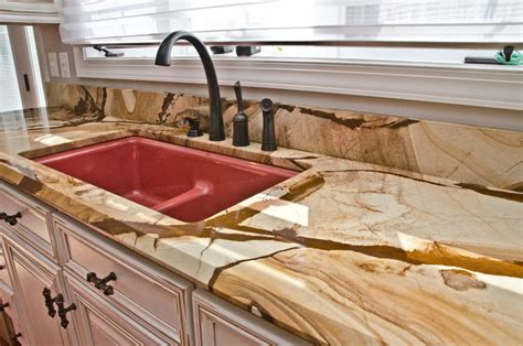 Wood Granite Countertops wood granite countertops traditional kitchen