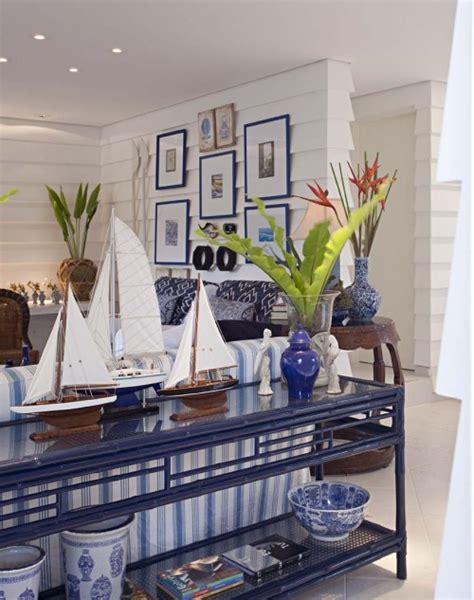 Decorating Ideas Nautical Living Room Nautical Decorating Ideas Coastal Living Beachy Prints