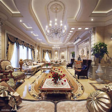 golden design for luxury villa interior 3d house free luxury villa interior ii by muhammad taher 3d artist