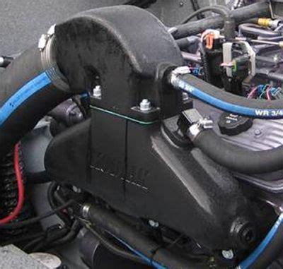 boat engine manifold kodiak big block chevy polished jet boat manifolds