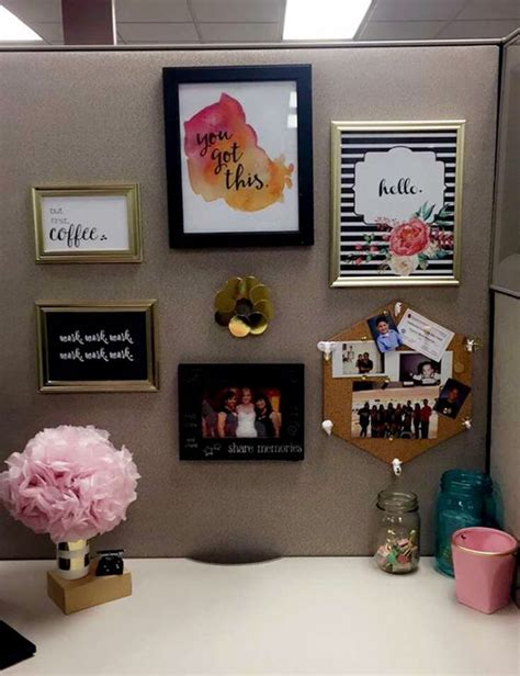 work office decor 20 creative diy cubicle workspace ideas house design and