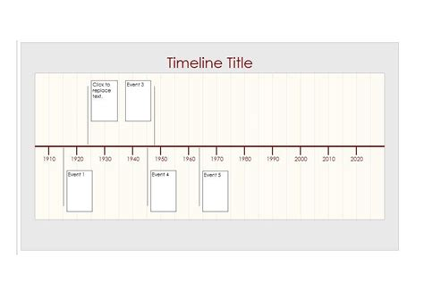 download timeline template excel mac