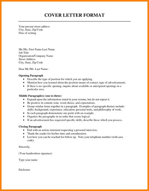 Cover Letter Template Exles 10 Cover Letter Outline Coaching Resume