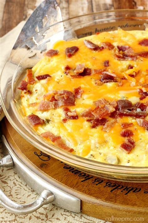 bacon cheese potato bake recipe baked potato bacon egg breakfast skillet 187 call me pmc