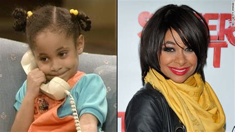 raven symone mohawk ngozi gold the cosby show before meets after
