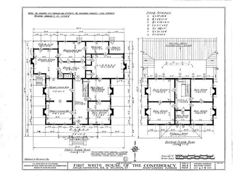 building plans for homes floor plan of the white house of the confederacy united daughters of the confederacy