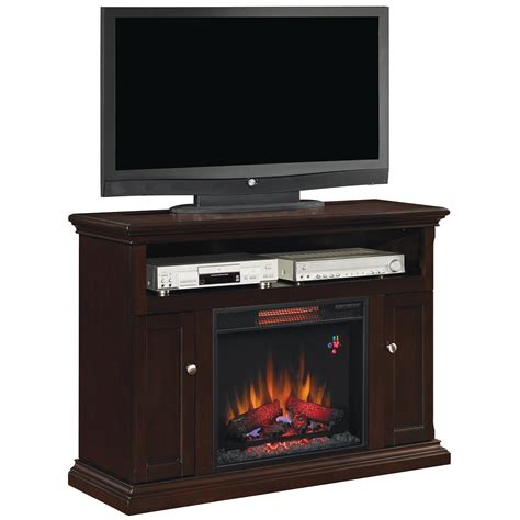 infrared l with stand cannes tv stand for tvs up to 50 quot with 23 quot infrared quartz