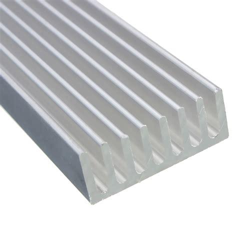 aluminum heat sink 3pcs 100 x 25 x 10mm aluminum heat sink alexnld com