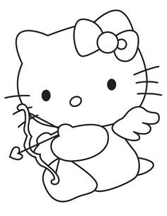 hello kitty bow coloring pages hello kitty birthday coloring pages free printable happy