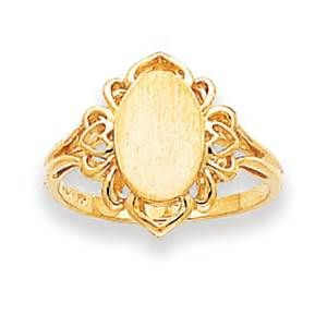 kevin jewelers 14k yellow gold oval s signet ring ebay