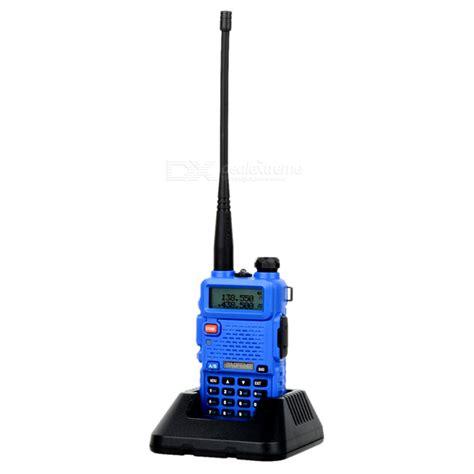 Lcd Uv5r 1 baofeng bf uv5r 1 5 quot lcd 5w 128 ch walkie talkie de banda dual uv azul frete gr 225 tis