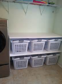 laundry organizer laundry room basket organizer and folding area laundry