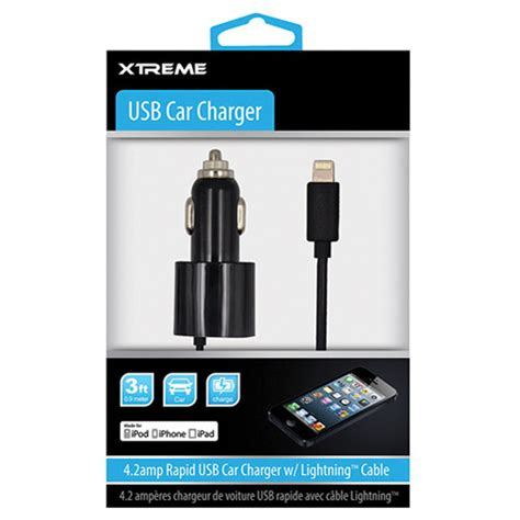 Hellodeere Lightning To Usb Cable Ios 7 Compatible Gold Plated 15m 1 xtreme cables 3 0 4 2 rapid usb car charger 52820 b h