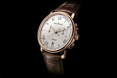 introducing the blancpain villeret chronographe pulsom 232 tre
